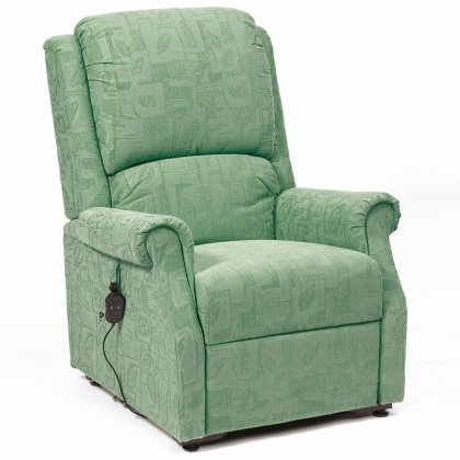 chicago recliner chair green