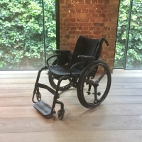 Quickie Helium self propelling wheelchair