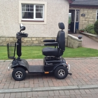 Rascal Pioneer mobility scooter-nearly new