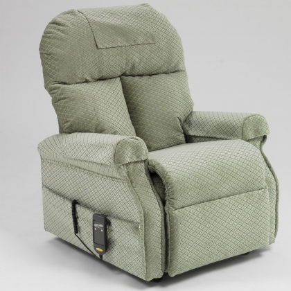 Boston recliner chair green