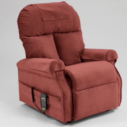 boston recliner chair red