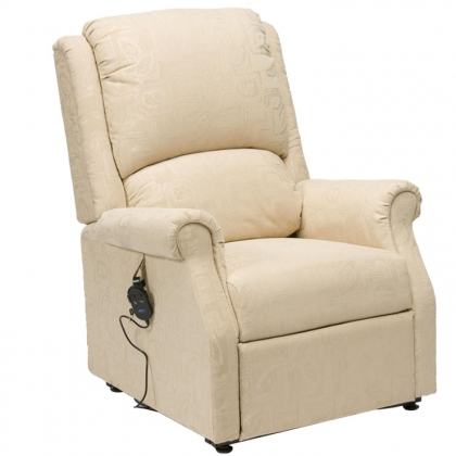 chicago recliner chair cream